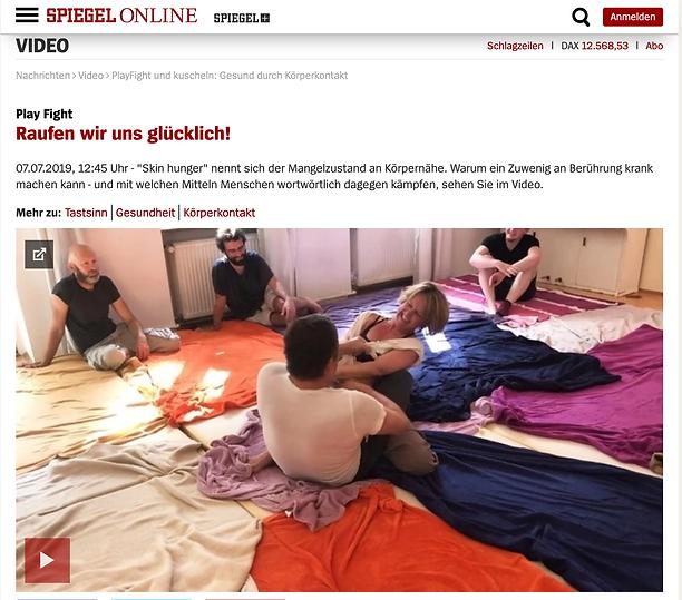 Spiegel online Artikel Playfight Kuschelraum