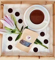 kuscheln-kakao, eine Tasse zeremonieller Kakao