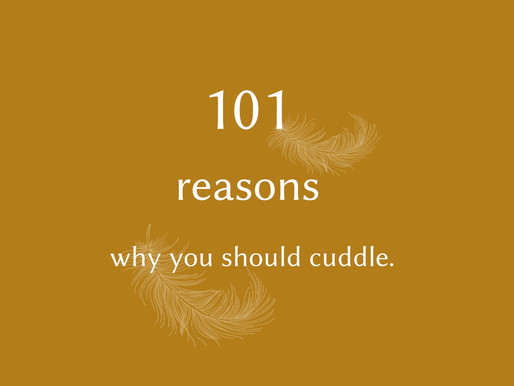 101 reasons why you should cuddle