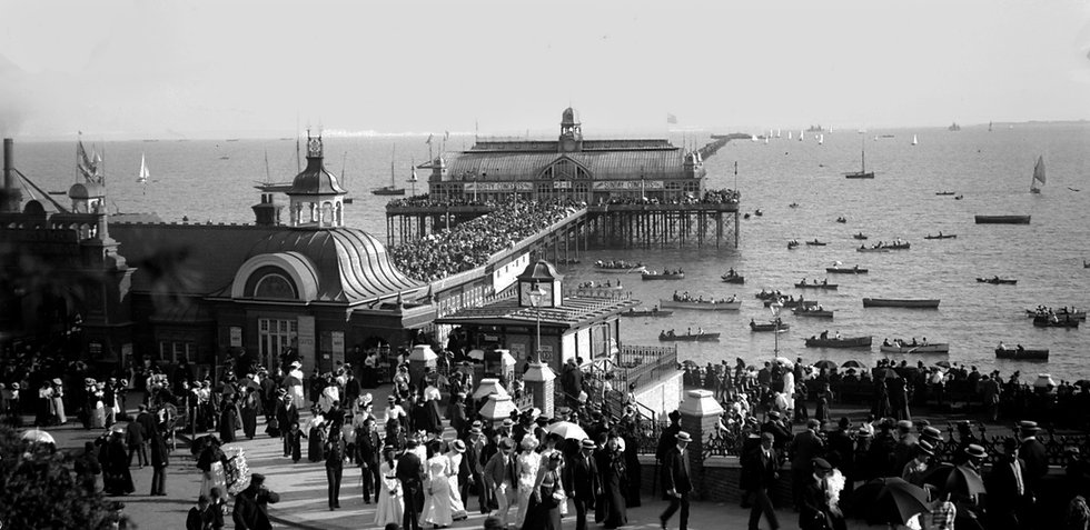 Historic photo of Southend Pier