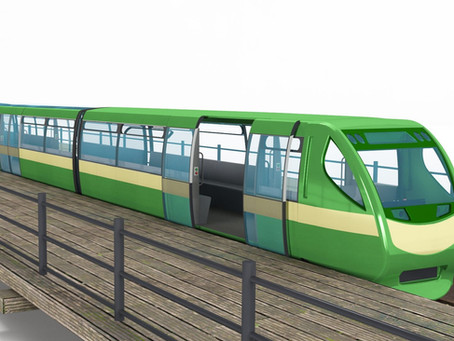 Designs revealed for the new Southend Pier trains