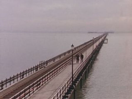 Southend Pier in the end credits of British television series Minder 1979