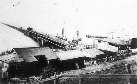Historic image of Southend Pier from 19th Century