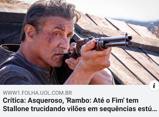 Folha de São Paulo faz crítica ao novo Rambo