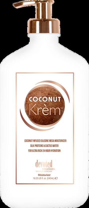 Coconut Krem (de aftersun uit onze cabines)