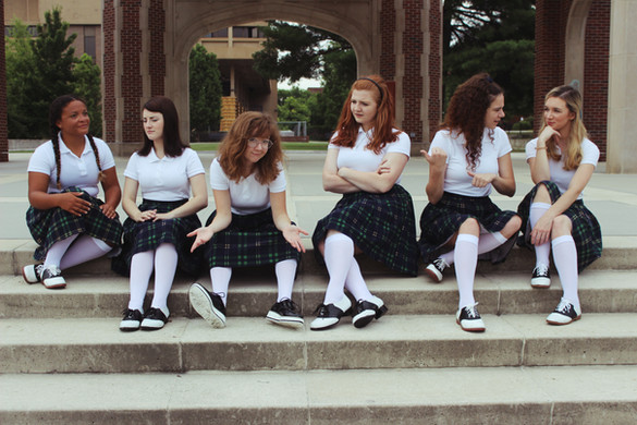 promo shoot for Women's Theatre Festival