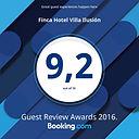 Calificación de los huéspedes para Finca Hotel Villa Ilusion en booking.com