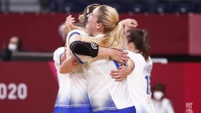 Jeux Olympiques de Tokyo | Comme on se retrouve ! La Russie a rendez-vous avec la France en finale !