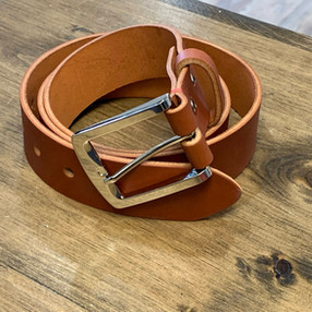 Crafted Leather Belt