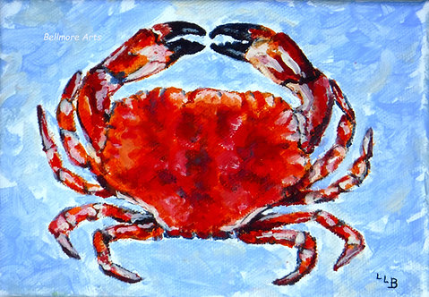 Crab by Laurie Lofman Bellmore