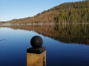 Meditation på bryggan