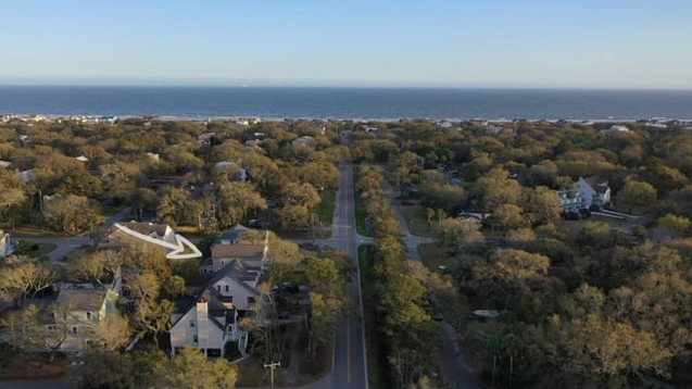 32 41st Ave, Isle of Palms - Aerials