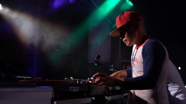 DJ Qbert at Skinful Halloween