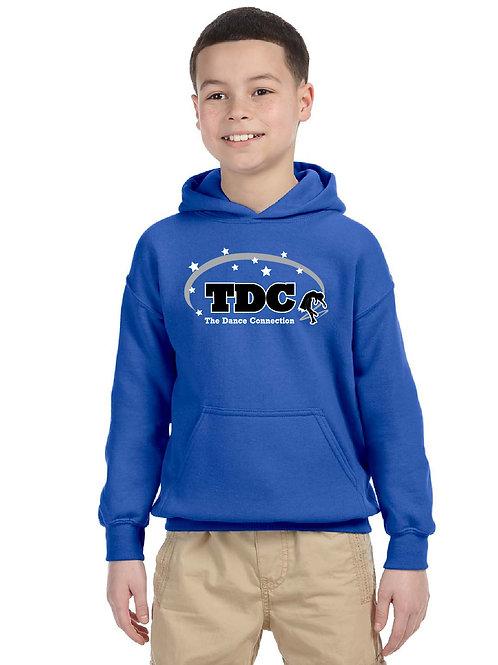 TDC G185B Printed Youth Hooded Sweatshirt