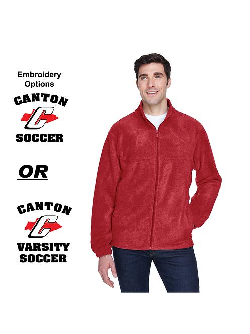 M990 Canton Soccer Full Zip Polar Fleece