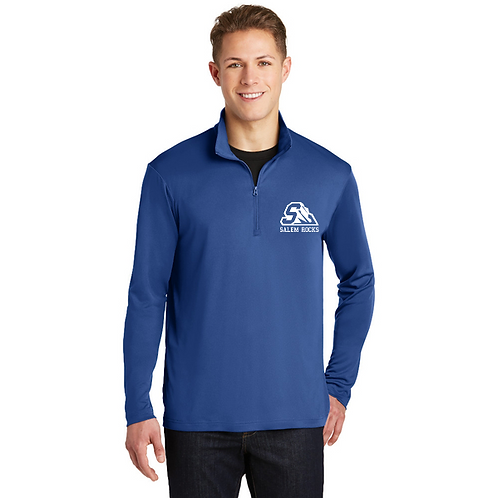 Embroidered Salem ST357 1/4-Zip Pullover
