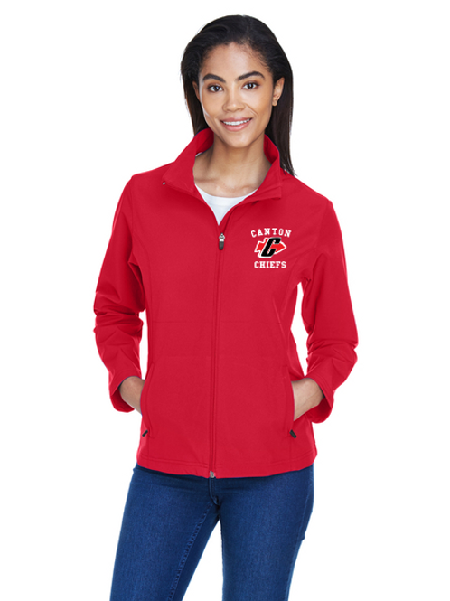 Embroidered Canton TT80W Ladies' Leader Soft Shell Jacket