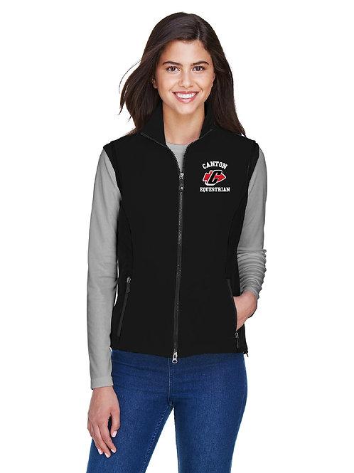 PCEP Equestrian (78050) Ladies' Soft-Shell Full-Zip Vest