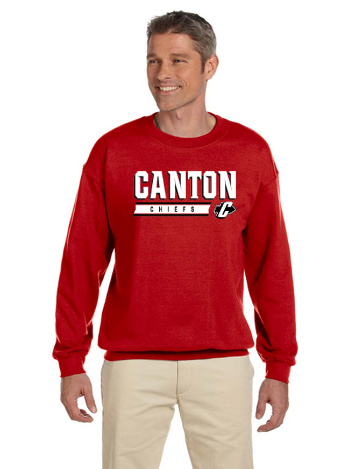 Canton G180 Adult Heavy Blend 50/50 Fleece Crew