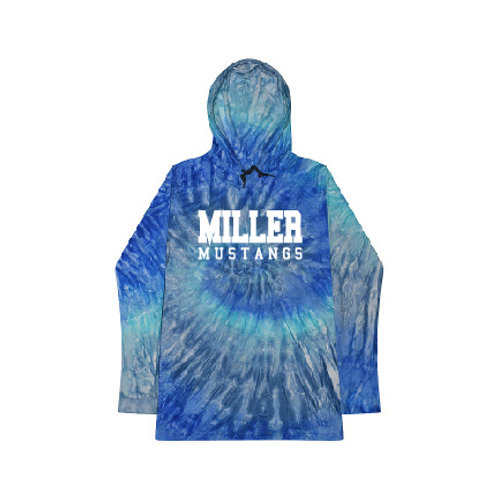 Miller CD2777 Tie-Dye Hooded Sweatshirt