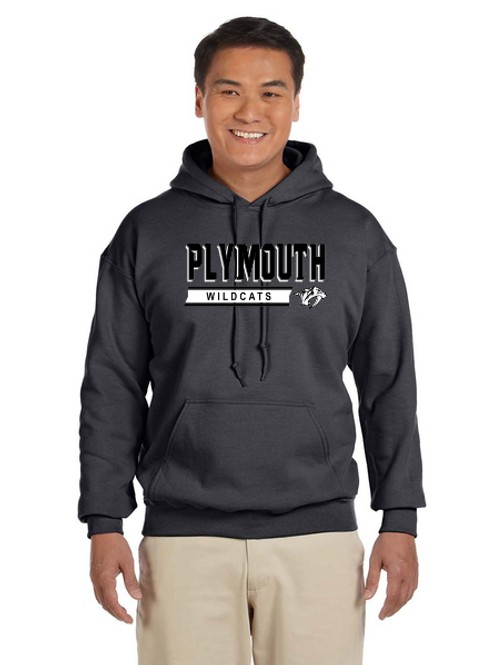 Plymouth G185 Adult Heavy Blend 50/50 Hoodie