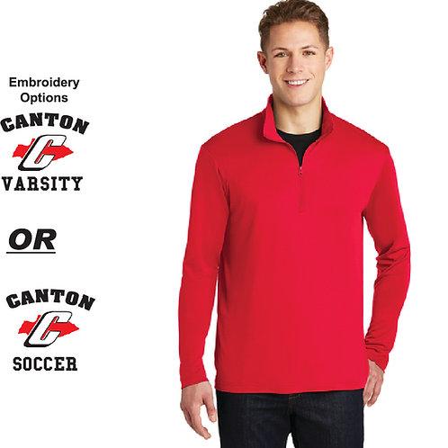 Canton Soccer Embroidered ST357 Men's Quarter Zip