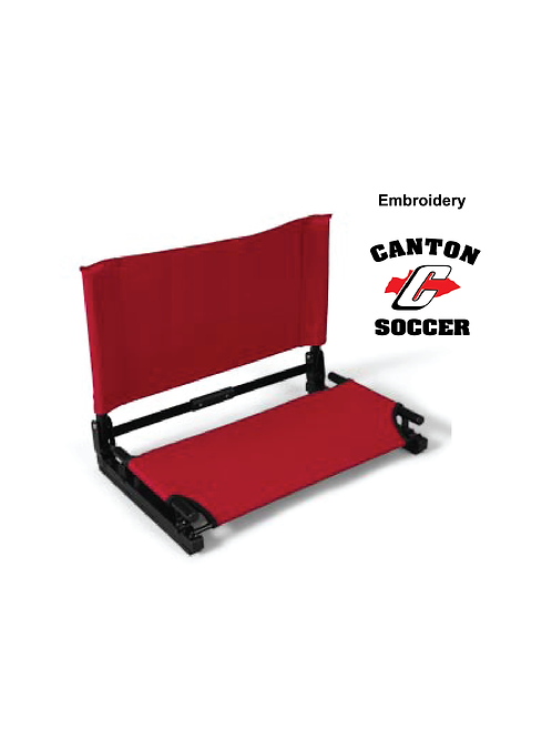 Canton Soccer Embroidered SH910 Stadium Chair (SOC)