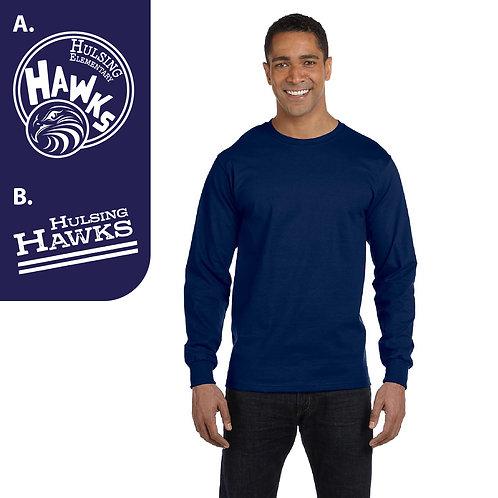 Hulsing G840/G240B Printed Long-Sleeve T-Shirt