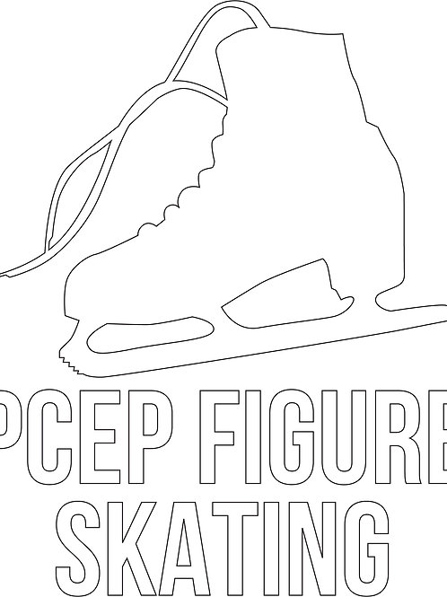 PCEP Skate Car Sticker