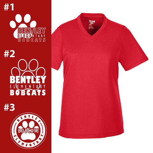 Bentley Bobcats Printed TT11W Ladies' Performance T-Shirt