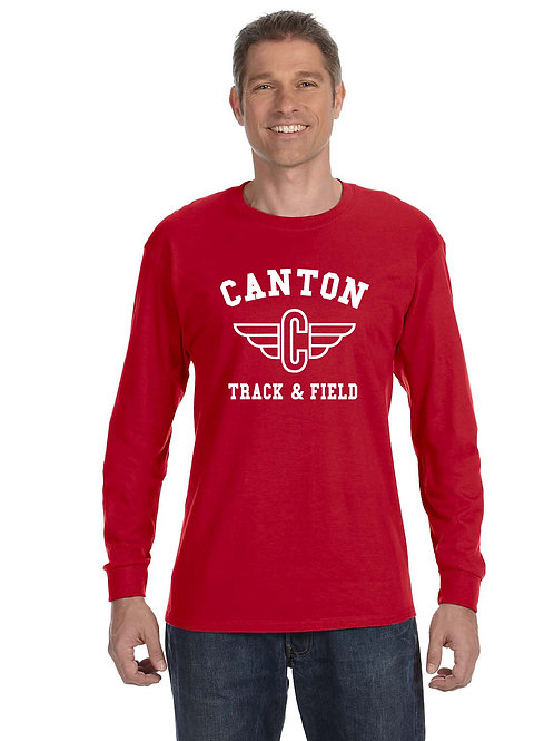 Canton Track G540 Adult Heavy Cotton Long-Sleeve T-Shirt