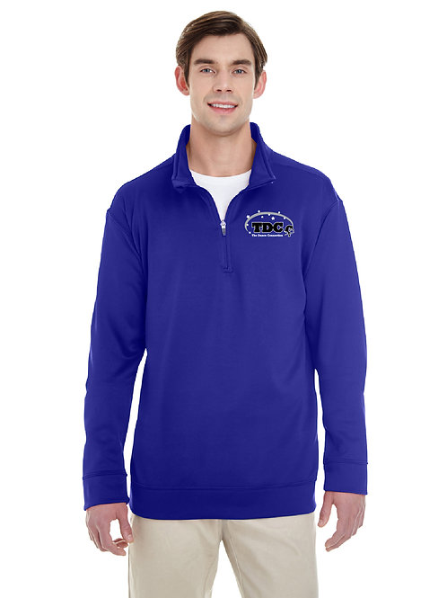 TDC G998 Printed Adult Quarter-Zip Sweatshirt