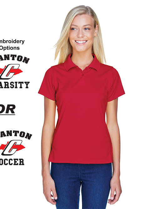 Canton Soccer Embroidered M315W Women's Polo