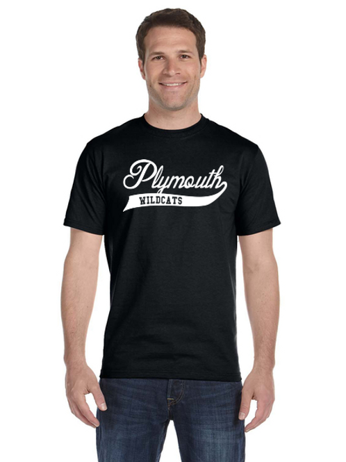 Plymouth Glitter G800 Adult 50/50 T-Shirt