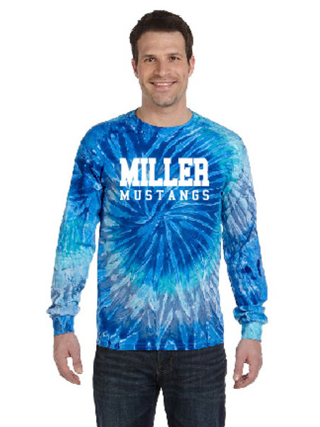 Miller CD2000 Tie-Dye Long-Sleeve T-Shirt