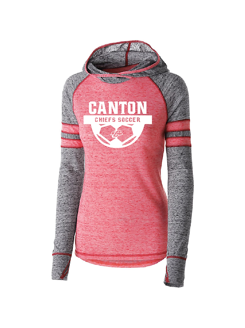 Canton Girl's Soccer 229749 Women's Advocate Hoodie