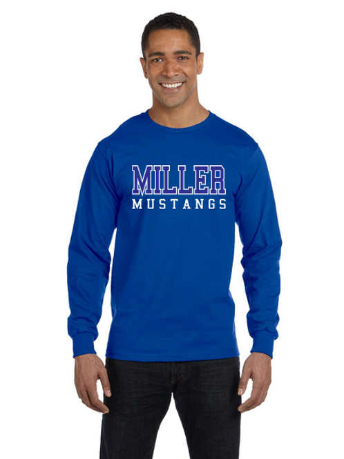 Miller G840/G240B 50/50 Long-Sleeve T-Shirt