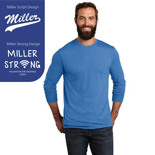 Printed Miller AL6004 Long-Sleeve Tee