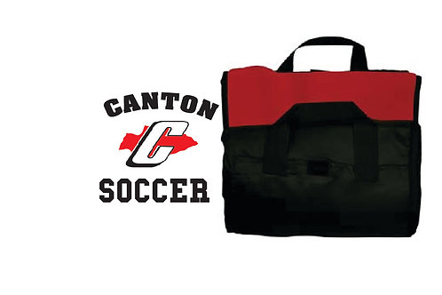 Canton Soccer Embroidered LB8701 Canton Soccer Blanket