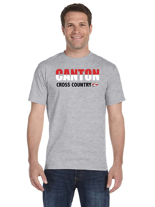 G800 Canton Boy's Cross Country Adult 50/50 T-Shirt