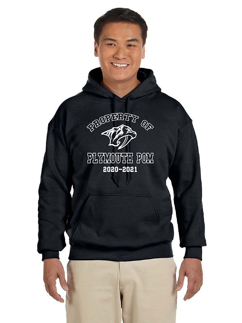 Property of Plymouth Pom G185 Hoodie
