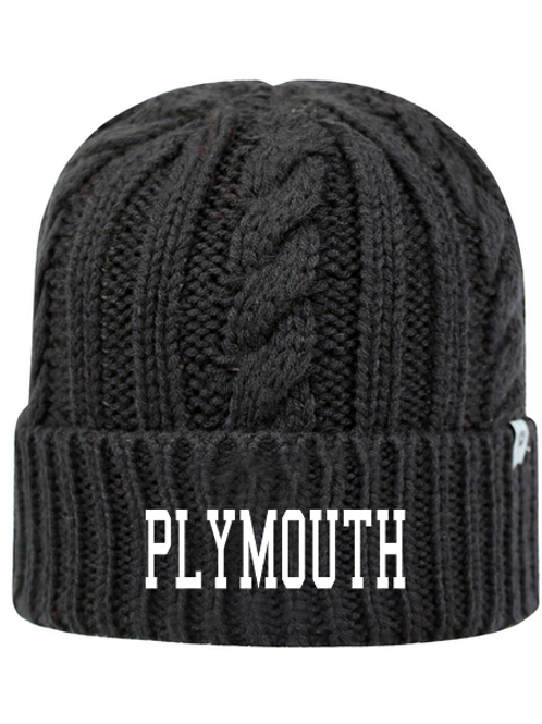 Embroidered Plymouth TW5003 Adult Unisex Empire Knit Cap