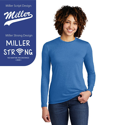 Printed Miller AL6008 Women's Long-Sleeve Tee