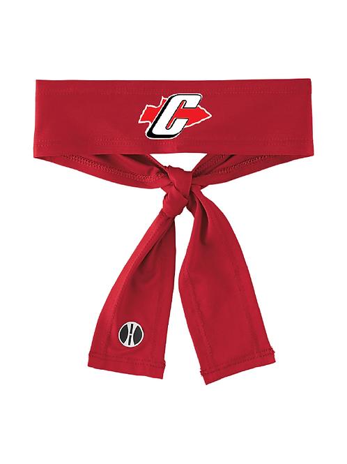 Canton Girl's Soccer 223846 Zoom Tie Headband