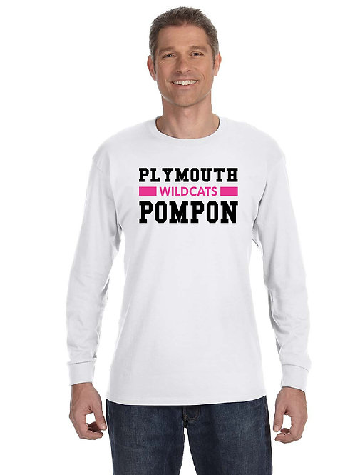 Plymouth Wildcats Pom G540 Long-Sleeve T-Shirt