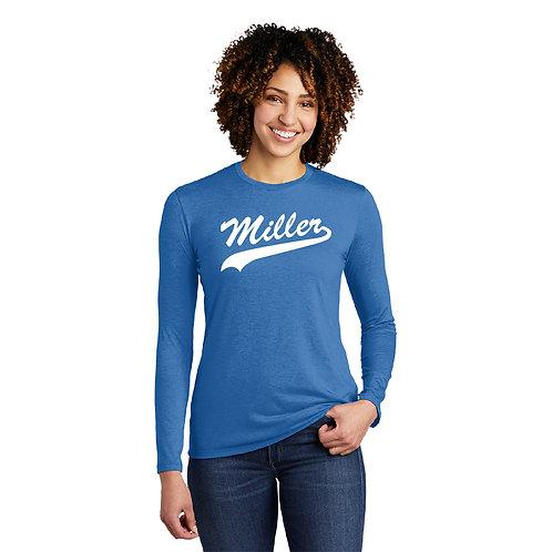 Printed Miller AL6008 Women's Long-Sleeve Tee