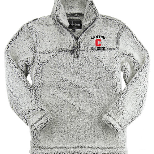 Canton Cross Country Q10FGR Sherpa Quarter-Zip Pullover
