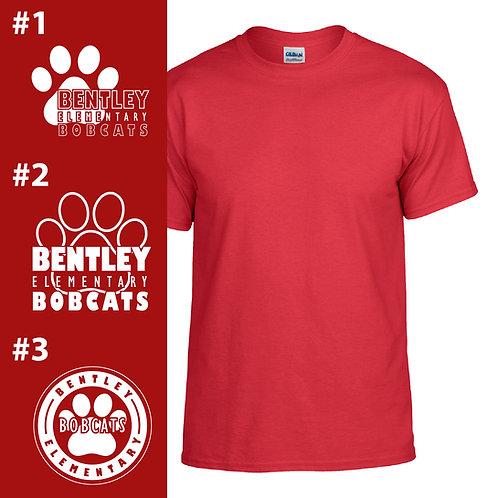 Bentley Bobcats Printed G800B Youth T-Shirt