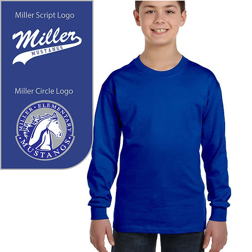 Miller Mustangs G540B Youth Long-Sleeve Shirt ($15.00-$21.00)