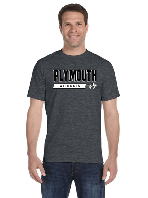 Plymouth G800 Adult 50/50 T-Shirt
